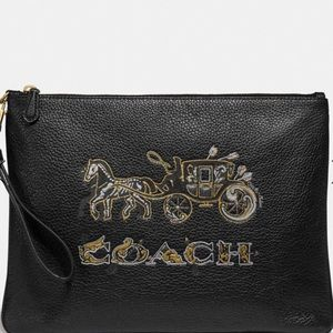 Coach Large Wristlet 30 with Chelsea anima…